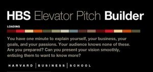 QUICK- what's your elevator pitch?