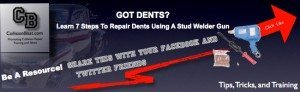 Dent Repair – How To Use The New Magna-Spot Stud Welder Gun