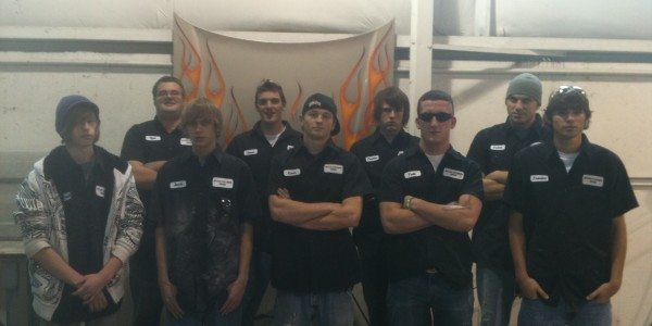 Butler Community Collision Repair Class of 2012