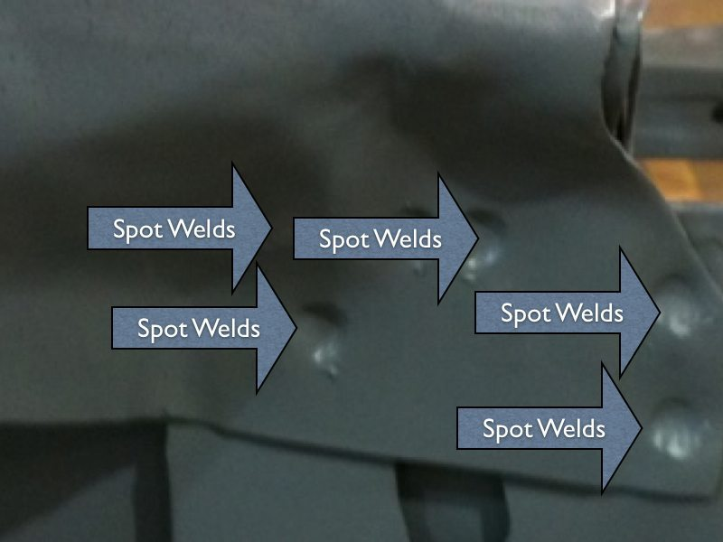 8 Steps To Drill Spot Welds And Remove A Quarter Panel On