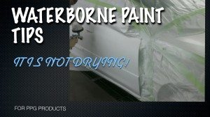 WATERBORNE PAINT TIPS.003 300x168 Waterborne Paint Drying Problem Solved
