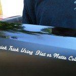 Flat or Matte Black - 5 Videos