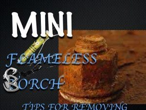 How To Remove Rusted Bolts Using the Mini Ductor 2
