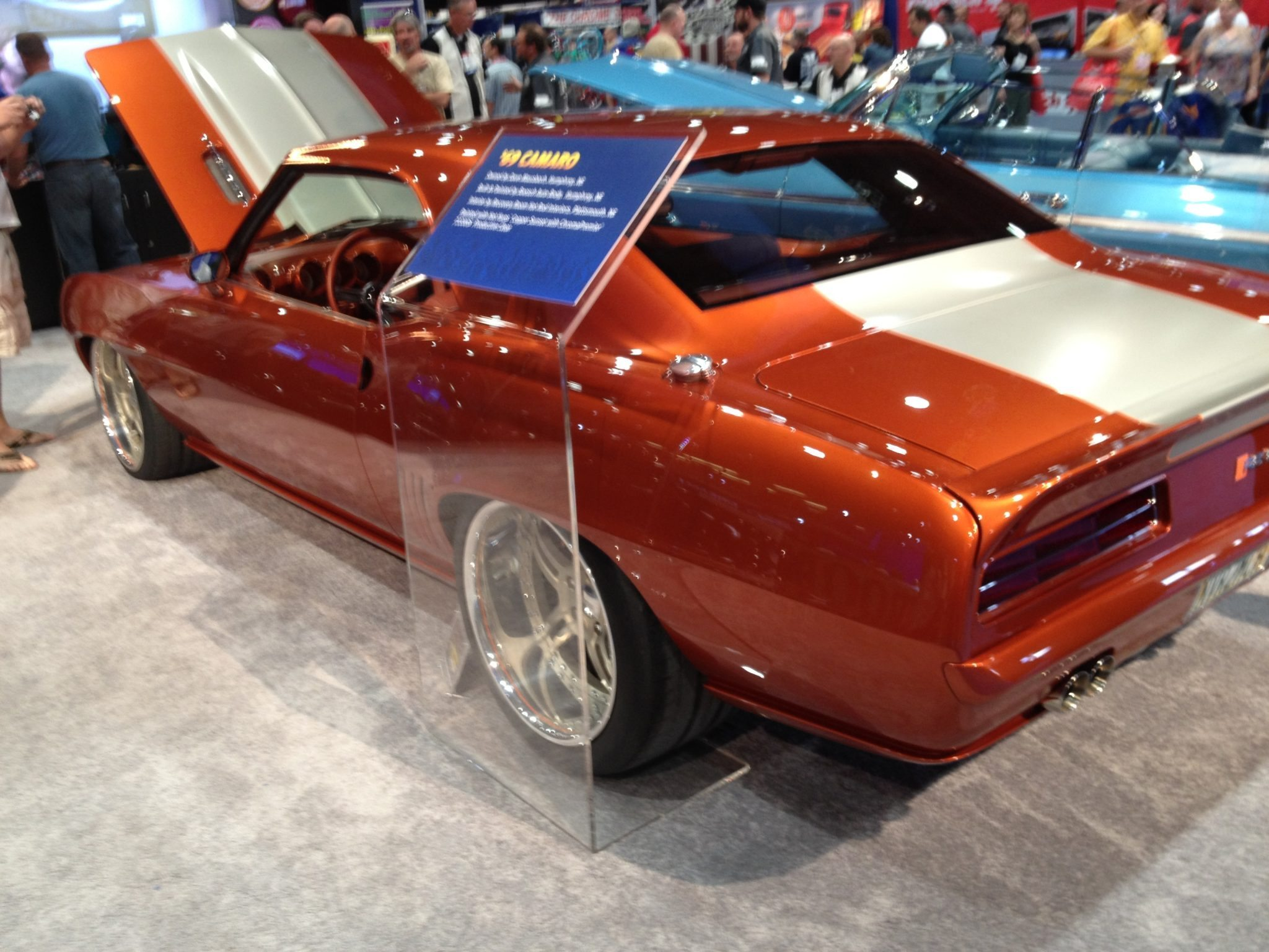 car photos from sema 2012 with chip foose overhaulin cadillac and