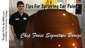 Tips For Spraying Chip Foose's Bronze Paint