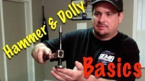 Tips For Selecting The Right Hammer and Dolly For A Dent