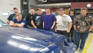BOCES Provides Students Training for a Career in Collision Repair
