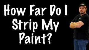 How Far To Strip Off The Paint On My Car To Repaint