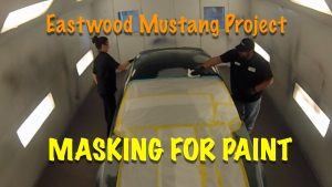 Masking The Eastwood Mustang Project For Paint