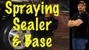 How To Spray Primer Sealer and Base Coat on Eastwood Mustang Project
