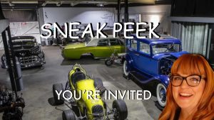 You're Invited…Cool Cars, Music, Drinks, and More