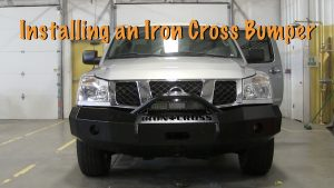 Installing an Iron Cross Bumper on a 2007 Nissan Titan